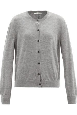 The Row Dames Cardigans - Battersea Round-neck Cashmere Cardigan - Womens - Grey