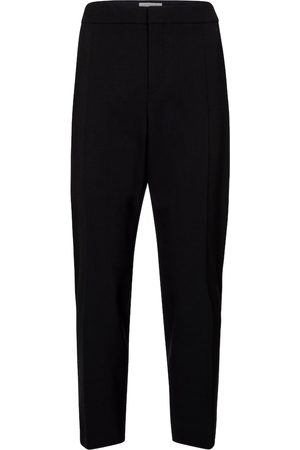 Chloé Cropped stretch-wool slim pants