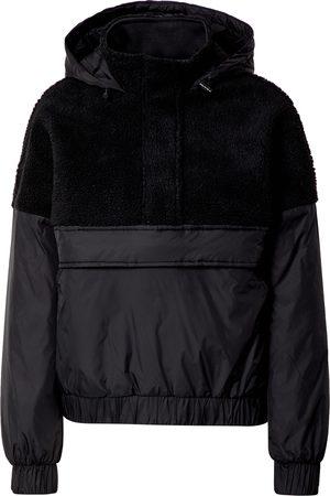 Urban Classics Dames Bontjassen - Tussenjas 'Ladies Sherpa Mix Pull Over Jacket