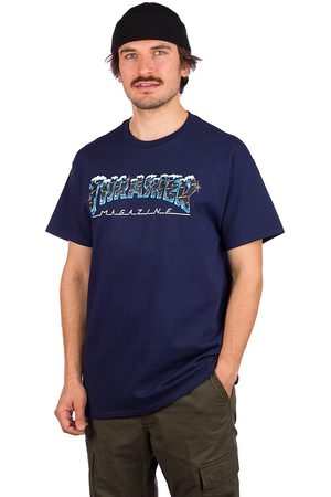 Thrasher Heren Korte mouw - Black Ice T-Shirt