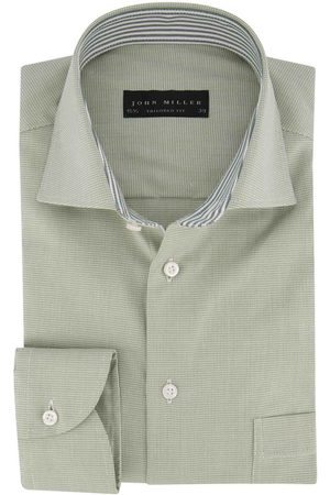 john miller Overhemd patroon Tailored Fit