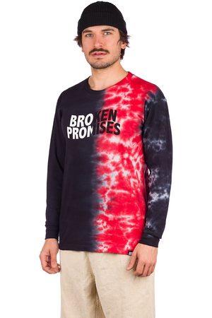 Broken Promises Heren Lange mouw - Logo Split Longsleeve T-Shirt
