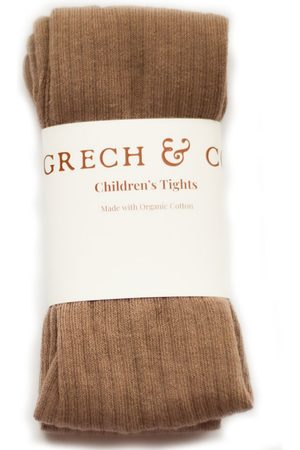 Grech and Co Kinderen Leggings & Treggings - Leggings Childrens Tights Organic Cotton