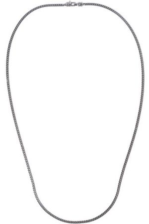 TOM WOOD M Curb-chain Sterling-silver Necklace - Mens - Silver