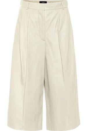 Joseph Dames Shorts - Timo leather Bermuda shorts