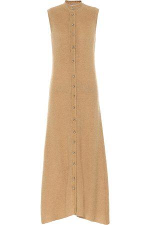 Paco rabanne Mohair-blend midi dress