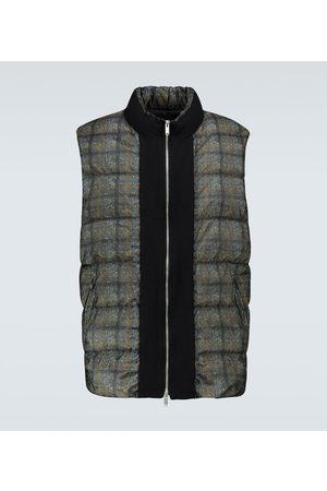 UNDERCOVER Heren Donsjassen & Gewatteerde jassen - Checked padded vest