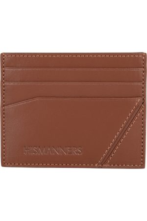 Hismanners Heren Koffers - Pasjes portemonnees Silas Creditcard wallet