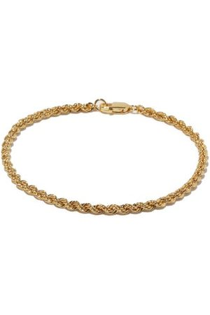 Otiumberg Twisted-chain 14kt Gold-vermeil Bracelet - Womens - Yellow Gold