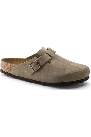 Birkenstock Clogs - Clogs Boston SFB VL Narrow Taupe