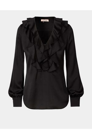 LaDress Dames Blouses - Kleding Blouses & tunieken Blouses Clemence Satijnen blouse