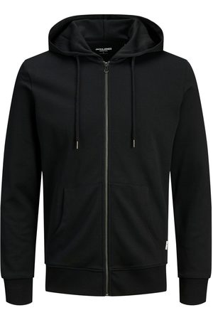 Jack & Jones Heren Sweaters - Basic Met Rits Hoodie Heren