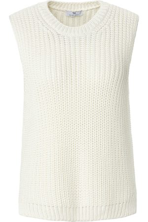 Peter Hahn Mouwloze trui met ronde hals en zijsplitjes Van