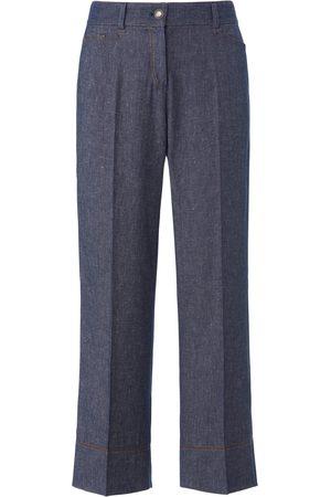 Schneiders Enkellange broek met wijde pijpen Van