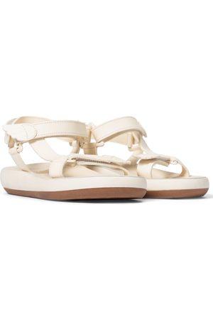 Ancient Greek Sandals Poria leather trekking sandals