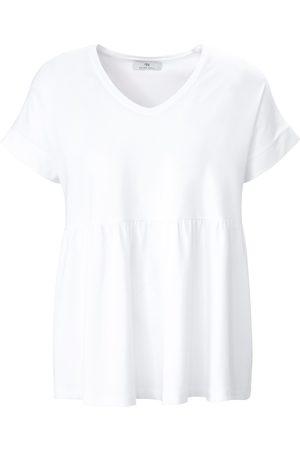 Peter Hahn Shirt met V-hals en korte mouwen Van