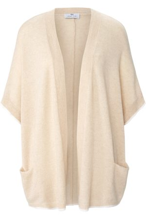 Peter Hahn Vest 100% kasjmier in oversized model Van Cashmere Nature