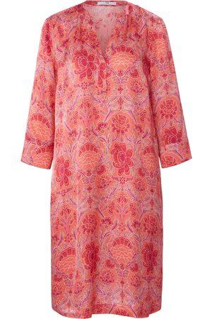 Peter Hahn Dames Geprinte jurken - Jurk 3/4-mouwen en bloemenprint Van