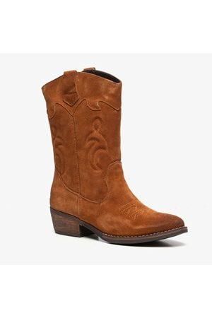 TwoDay Suede dames western laarzen