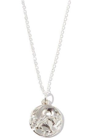 Alighieri Taurus Sterling-silver Necklace - Mens - Silver