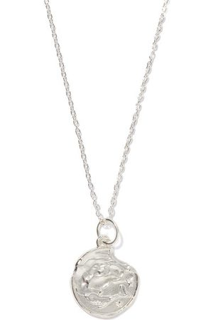 Alighieri Pisces Sterling-silver Necklace - Mens - Silver