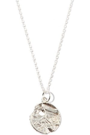 Alighieri Heren Kettingen - Aquarius Sterling-silver Necklace - Mens - Silver