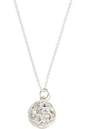 Alighieri Sagittarius Sterling-silver Necklace - Mens - Silver