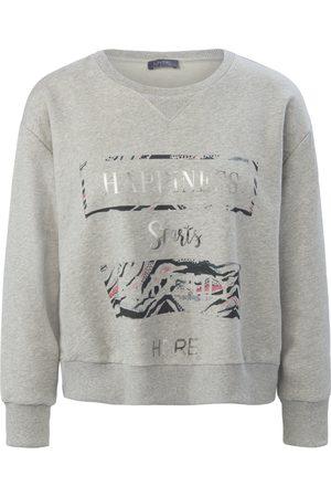 Mybc Dames Shirts - Sweatshirt van 100% katoen met front-print Van
