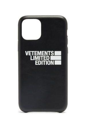 Vetements Haute Couture Leather Iphone® 11 Pro Case - Mens - Black
