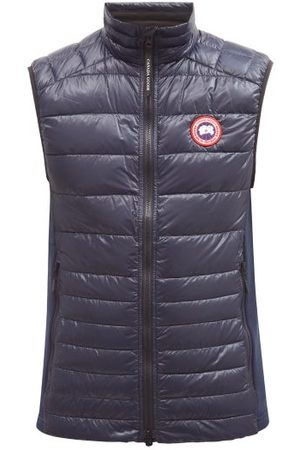 Canada Goose Hybridge Quilted-down Gilet - Mens - Navy