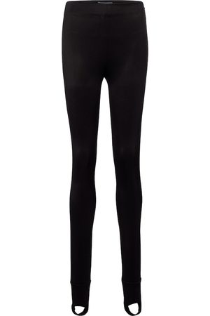 Prada High-rise stretch-jersey stirrup leggings