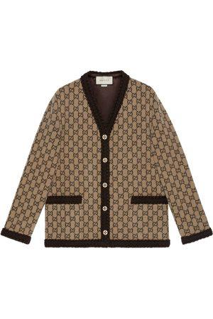 Gucci Wool GG knit cardigan