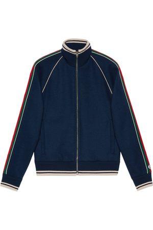 Gucci Heren Jacks - Cashmere zip-up jacket