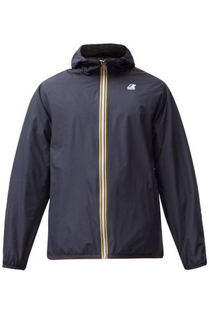 Fendi Heren Windbreakers - X K-way Reversible Ff-logo Windbreaker Jacket - Mens - Black Navy