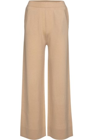 Jardin des Orangers Wool and cashmere wide-leg pants