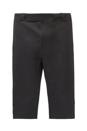 Prada Tailored Gabardine Shorts - Mens - Black