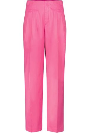 ROTATE Janis high-rise straight pants