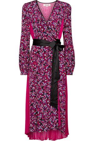 Diane von Furstenberg Ariadne printed silk crêpe de chine midi dress