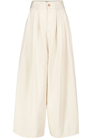 Isabel Marant Naidenae wide-leg cotton pants