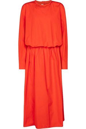 Marni Cotton poplin midi dress