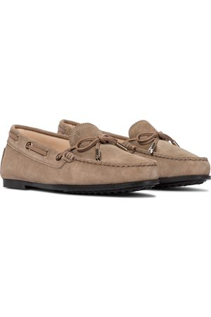 Tod's City Heaven suede loafers