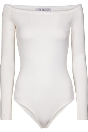 GABRIELA HEARST Klara wool and silk bodysuit
