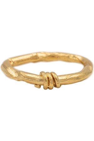 Alighieri The Trembling Bough 24kt vermeil ring