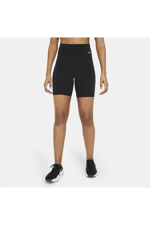 Nike Dames Shorts - One Damesshorts met halfhoge taille (18 cm)