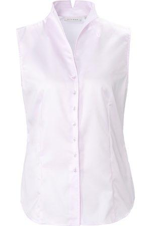 ETERNA Mouwloze blouse van 100% katoen Van
