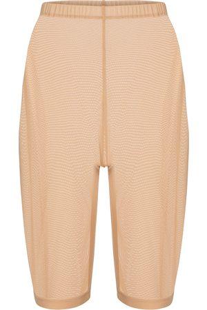 DAVID KOMA Mesh jersey shorts