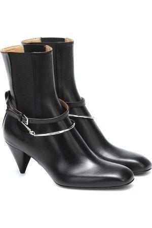 Jil Sander Dames Enkellaarzen - Leather ankle boots