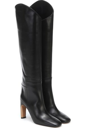Jil Sander Leather knee-high boots