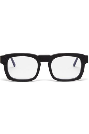 KUBORAUM Heren Zonnebrillen - K18 Square Acetate Glasses - Mens - Black