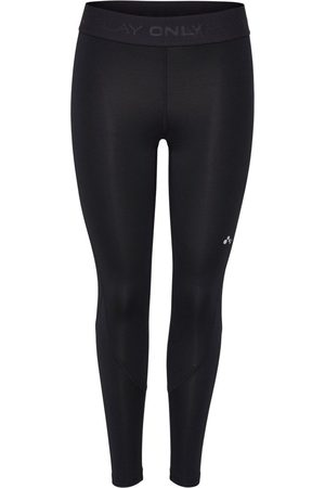 Only Curvy Sportlegging Dames Zwart